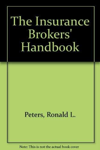 9780091741037: The Insurance Brokers' Handbook