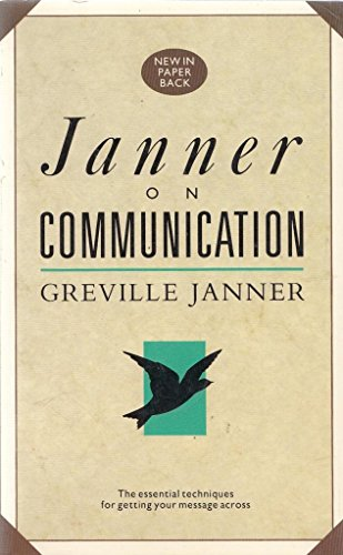 On Communication (0091741688) by Greville Janner