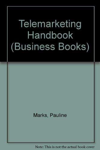 9780091742188: Telemarketing Handbook (Business Books)