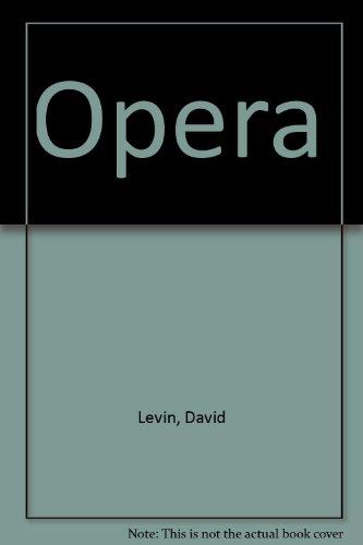 9780091743192: Opera