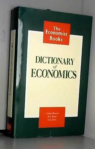 9780091743451: Dictionary Of Economics