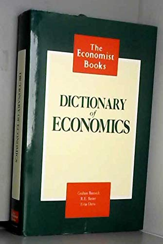 9780091743451: Dictionary Of Economics