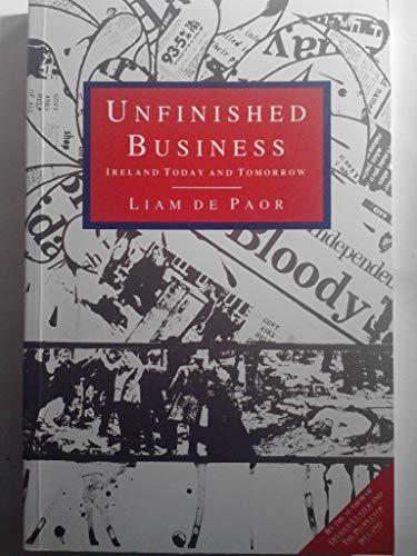 9780091744069: Unfinished Business: Ireland Today and Tomorrow (Radius Books)