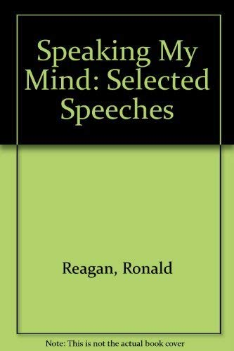 9780091744267: Speaking My Mind: Selected Speeches
