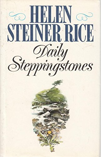 Daily Stepping Stones: Rice, Helen Steiner