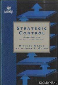 9780091746186: Strategic Control: Strategic Milestones for Long-term Performance (Ashridge Management)