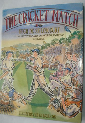 9780091746285: The Cricket Match