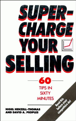 9780091747183: Supercharge Your Selling