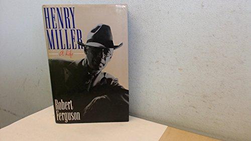 9780091747800: Henry Miller: A Life