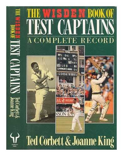 9780091748142: The WISDEN Book of Test Captains: A Complete Record