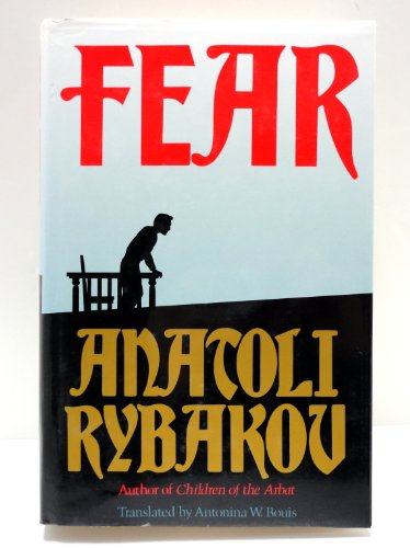 9780091748524: Fear