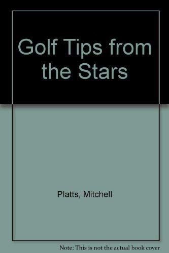 9780091748753: Golf Tips from the Stars
