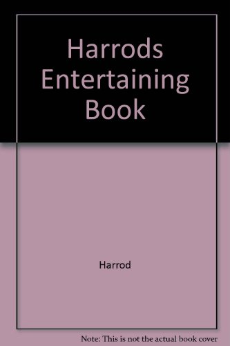 Harrods Entertaining Book (0091751268) by Macdonald, Claire