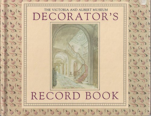 9780091751432: Decorators Record Book