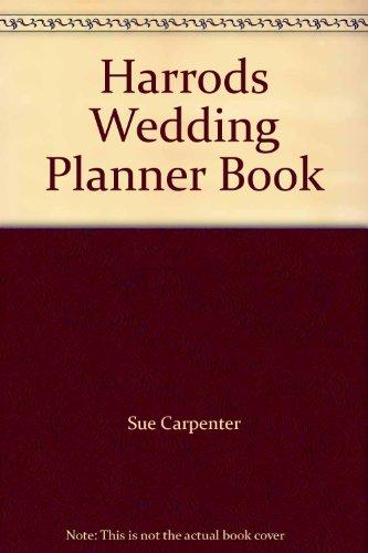 9780091751531: Harrods Wedding Planner Book
