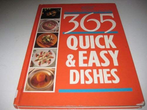 9780091753689: 365 Quick and Easy Dishes