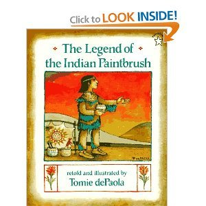 9780091763428: The Legend of the Indian Paintbrush