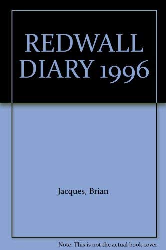 9780091766740: Redwall Diary 1996: From the Novels by Brian Jacques