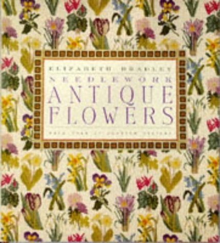 9780091771225: Antique Flowers in Needlework