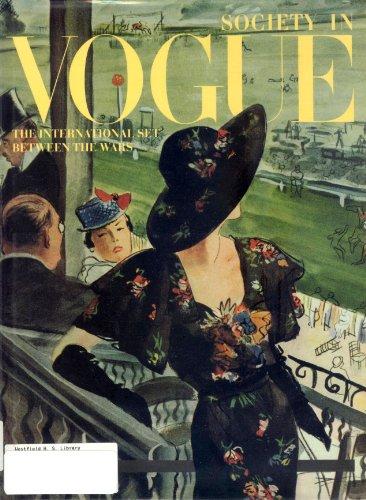9780091771690: Society In Vogue - International Set Between The Wars