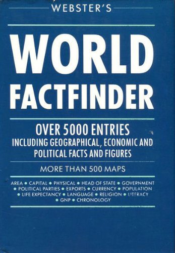 9780091771942: Webster's World Factfinder