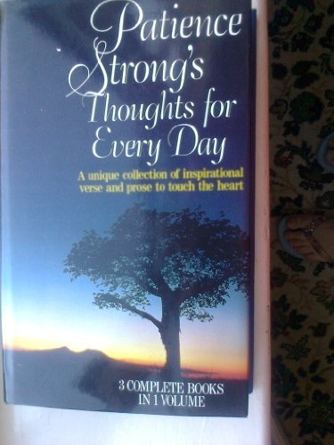 9780091772383: Patience Strong's thoughts for every day