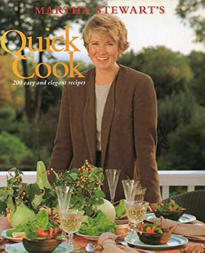 9780091773526: Martha Stewart's Quick Cook