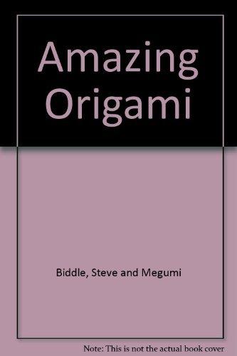 9780091774059: Amazing Origami
