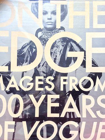 9780091777692: On the Edge - Images from 100 Years of Vogue