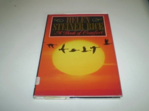 9780091792329: A Book of Comfort