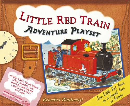 9780091798420: Little Red Train Adventure Playset