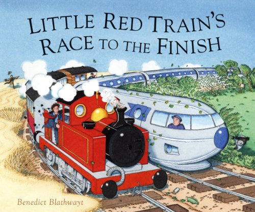 9780091798628: Little Red Train's Race to the Finish