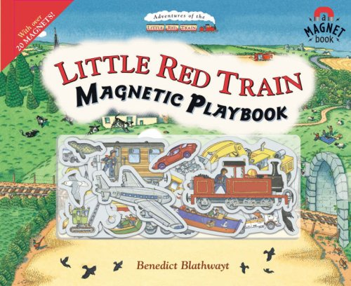 9780091798772: Little Red Train Magnetic Playbook