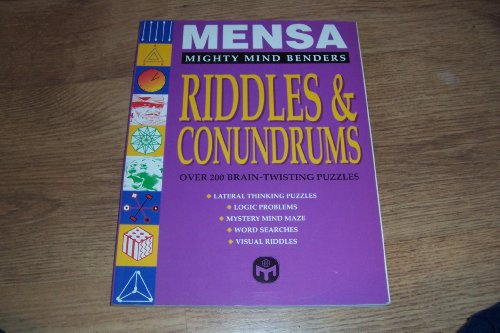 9780091804916: Mensa Riddles & Conundrums (Mighty Mind Benders)
