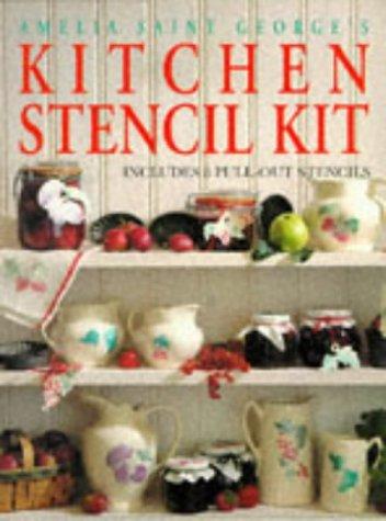 9780091808136: Kitchen Stencil Kit