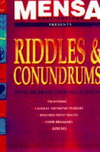 9780091808242: Mensa Riddles and Conundrums (Mensa)