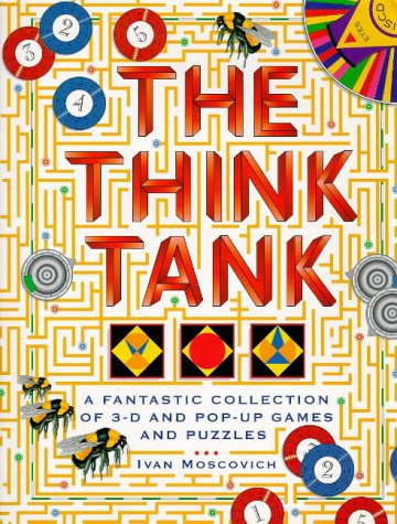 9780091809034: The Think Tank: A Fantastic Collection of 3-D and Pop-up Games and Puzzles