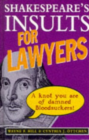 9780091809607: Shakespeare's Insults for Lawyers