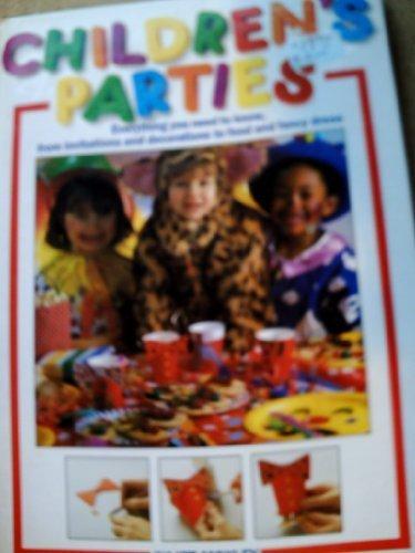 9780091821517: CHILDRENS PARTIES