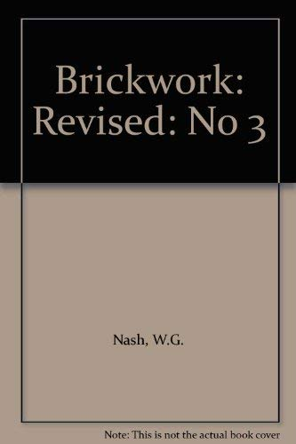 9780091823207: Brickwork: Revised: No 3