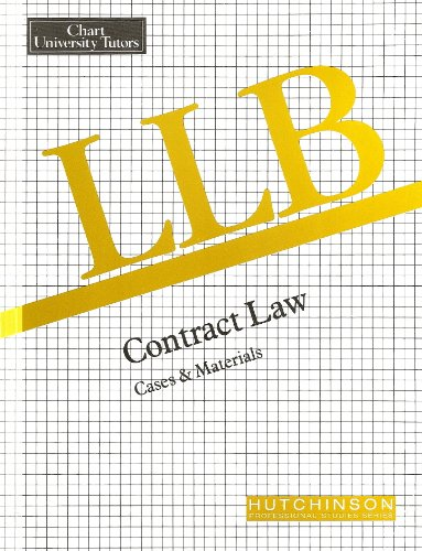 9780091824167: LLB Contract Law: Case Book
