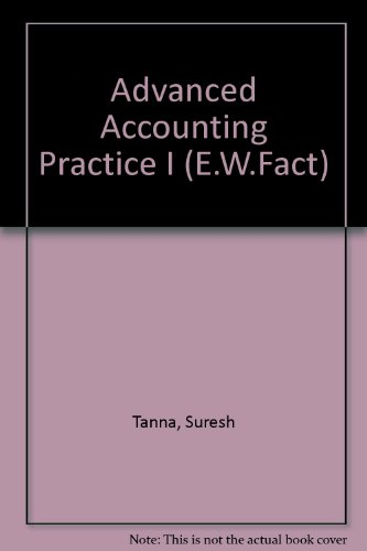 9780091824341: Advanced Accounting Practice I (E.W.Fact)