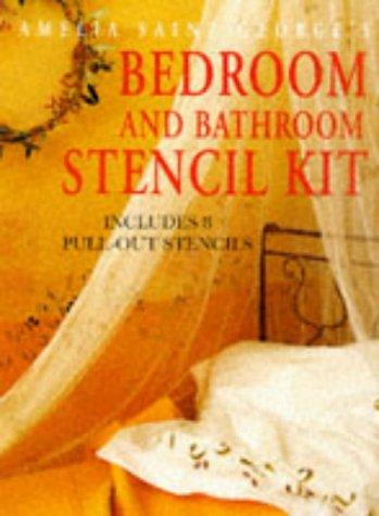 9780091828219: Amelia Saint George's Bedroom and Bathroom Stencil Kit