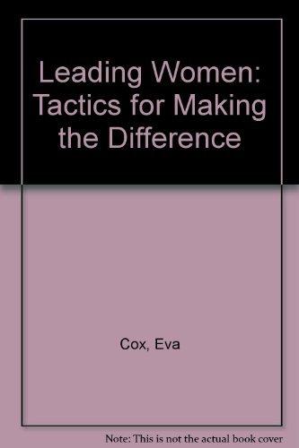 LEADING WOMEN: Cox, Eva