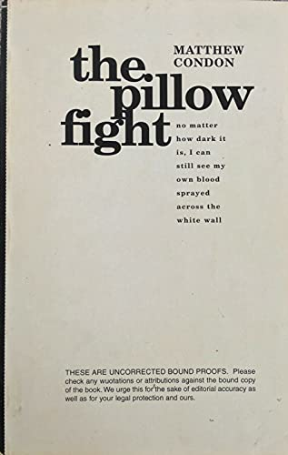 9780091835491: The pillow fight