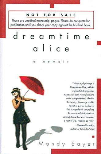 9780091836214: Dreamtime Alice: A Memoir