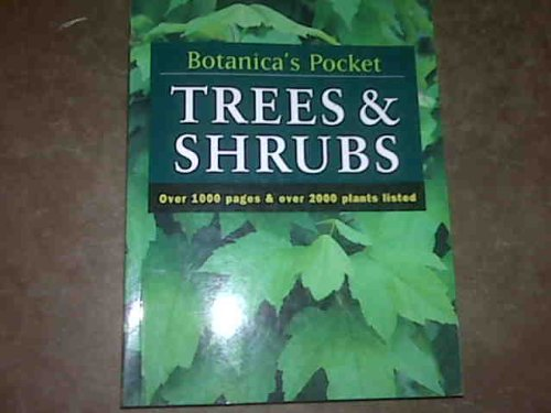 9780091838102: Botanica's Pocket Trees and Shrubs