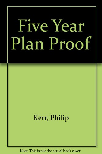 9780091854850: Five Year Plan Proof