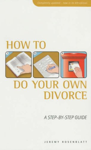 9780091857394: How to Do Your Own Divorce