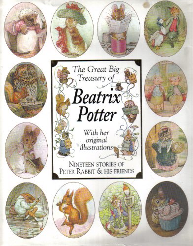 9780091858100: THE GREAT BIG TREASURY OF BEATRIX POTTER.